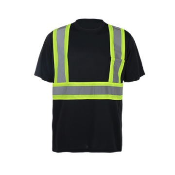 Short Sleeve High Visibility Safety Shirt
