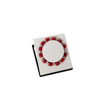 Single White Braceley Display Holder (BT-WL-J1)
