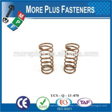 Made IN TAIWAN high qualiy metal spring small spring brass Spring
