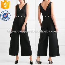 Crystal-verschönert Twill Jumpsuit Herstellung Großhandel Mode Frauen Bekleidung (TA3006J)
