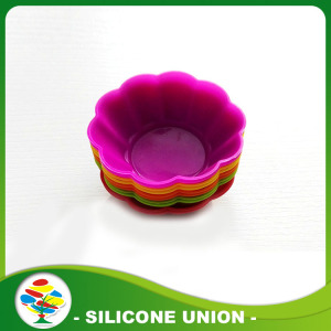 100% Food Grade Silicone Cake Cup