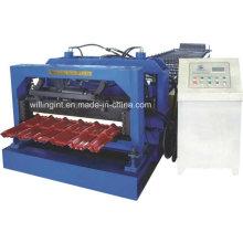 Профилегибочная машина для производства стальных плиток, Профилегибочная машина для производства плиток