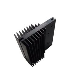 black powder coated aluminium extrusion heat sink china top aluminium profile manufacturers
