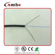 LSZH Chaqueta G657A1 Bend Residence 1/2/4 núcleo de fibra óptica fttx caída de cable de 2 núcleos