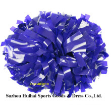 Purple Wet Look POM Poms