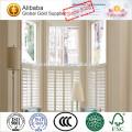 Indoor Holz By-Pass und Bi-Fold Plantation Fenster Fensterladen mit erschwinglichen Preis