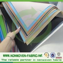 Material de tela hilada 100% polipropileno