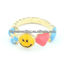 Costume jewelry ring alloy enamel hot sale popular rings jewelry-10070467