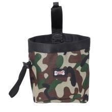 Adjustable Slider Dog Treat Pouch Bag Dog Training Snack Waist Bag