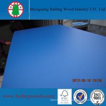 MDF stratifié mélamine de 18 mm avec différents colores pour meubles