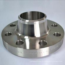 Flanges WN de aço inoxidável ANSI B16.5