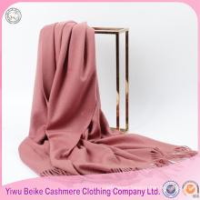High quality elegant warm 100% pure cashmere scarf shawl
