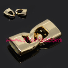 Cheap sale jewelry findings ,leather clasp connector findings