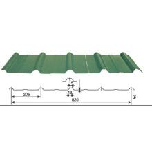 820 Tipo Cor Telhado e parede Metal Sheet
