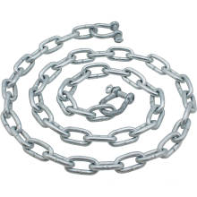 Factory customized hot dip galvanized standard double long link chain