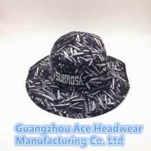 Sommer-Art- und Weisegewohnheit chinesischer Art-Drucken-Wannen-Hut (ACEK0011)