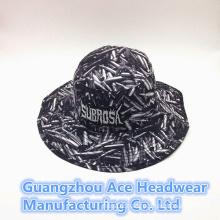 Summer Fashion Custom Chinese Style Printing Bucket Hat (ACEK0011)