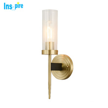 Indoor Vintage Wall Sconce gold Copper Glass design wall lights wall modern lamps