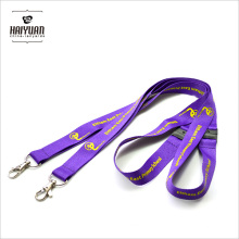 Hot Selling Double Clips Lanyard with Safety Break