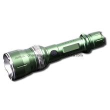 Dual Use 1X18650 or 3xaaa Batt Rotating T35 Flashlight