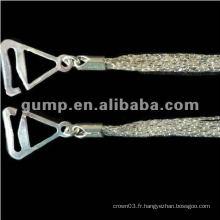 Sangles de soutien-gorge en métal (GBRD0182)
