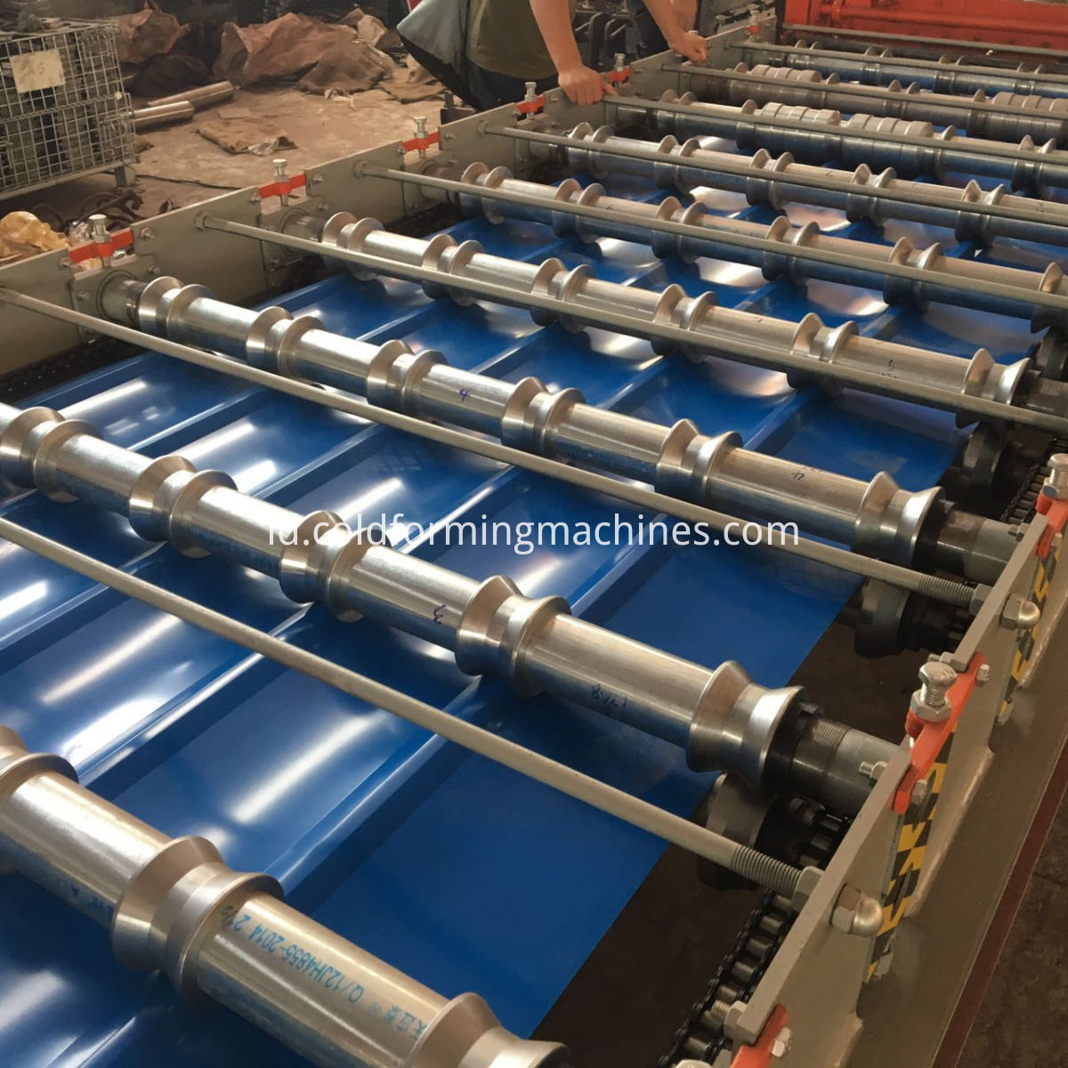 Wall Sheet Metal Forming Machine