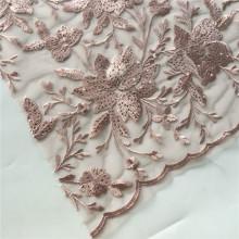 2019 Bridal Wedding Guest Flower Embroidery Fabric