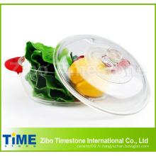 Ustensiles de cuisson au verre à base de borosilicate avec couvercle (DPP-4)