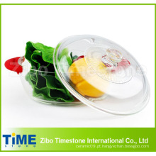 Utensílios de vidro de borosilicato com tampa (DPP-4)