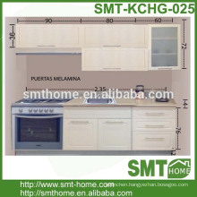 European KD modular customized 2.4m kitchen cabinet