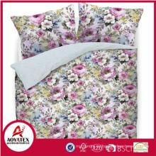 2018 nuevas sábanas de cama de girasol de estilo, ropa de cama de estilo europeo, sábanas desechables
