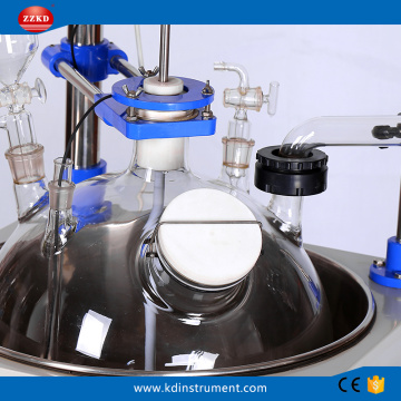 Biological Vacuum Glass Factory Price Reactor Kettle