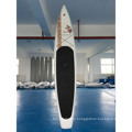 Inflatable Racing Board with Paddle