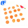 Round shape plastic  snap button non-woven bags