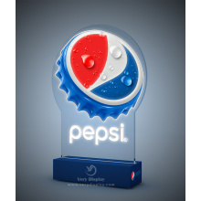 Pantalla de luz LED Pepsi