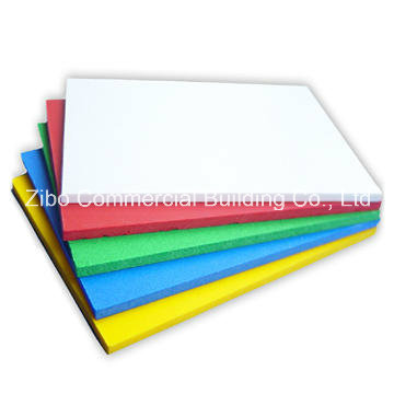 Color PVC Foam Sheet/Thin Foam Sheet/Foam Sheet
