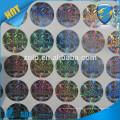 Electronique authentique VOID Le fil de flexible personnalisé scelle un autocollant / étiquette holographique