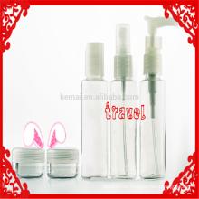 Travel Kit Flasche für kosmetische Verpackung 60ml Flaschen Travel Kit Kittravel