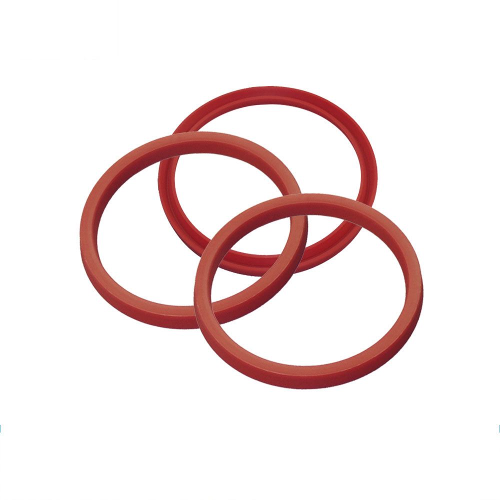 China Nonstandard Pu90 Red Factory Square Gasket Seals