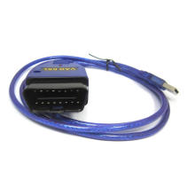 ELM327 USB OBD2 Auto herramienta de diagnóstico Cable Rl232 Chip OBD2