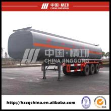 China melhor tanque criogênico de GNL semi-reboque (HZZ9401GHYA1), caminhão tanque de líquido disponível
