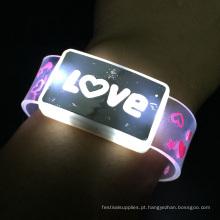 Dia dos Namorados Item Amor Logo Flashing Led Wristband