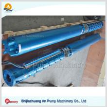 Bomba submersible de pozos profundos de alta presión