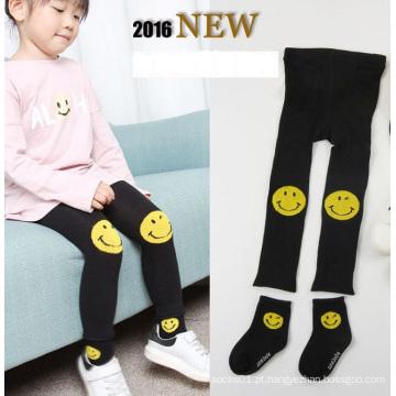 Calças Leggings algodão/poliéster/Nylon/acrílico feminino