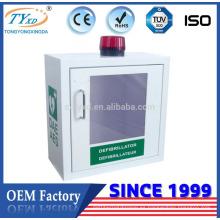 Caja de AED del desfibrilador de emergencia del certificado del CE