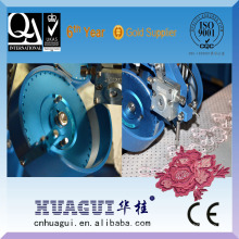 HUAGUI cheap one head two color rhinestone velvet fabric machine