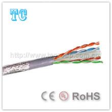 Ce / certificado de RoHS SFTP CAT6 LSZH Cable de red 305m / Roll