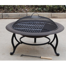 Patio 30inch Garden Metal Fire Pit
