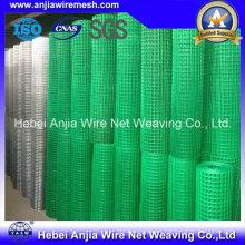 CE y SGS Materiales de Construcción Electro Galvanized Welded Wire Mesh