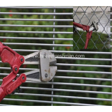 Pvc coated metal security fence